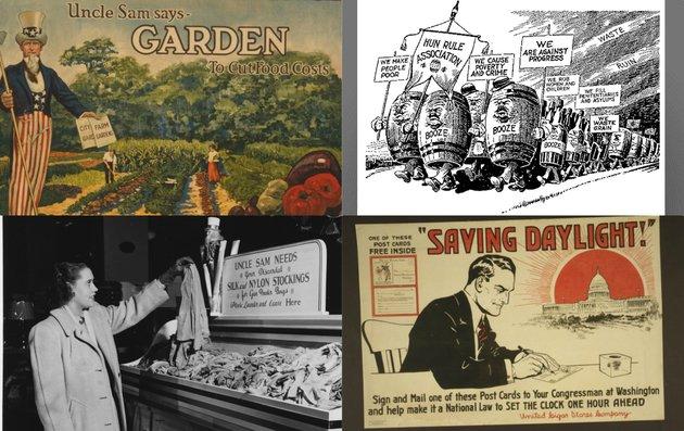 Hét bizarr megszorító intézkedés a két világháború éveiből