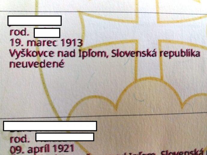 Született 1913-ban, Szlovákiában…