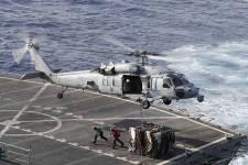 Peking aggodalmát fejezte ki amiatt, hogy egy amerikai hadihajó kelt át a Tajvani-szoroson