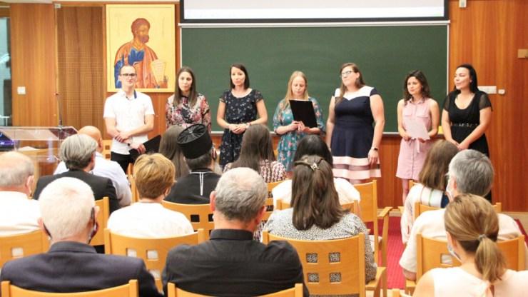 Elbúcsúztatták a végzős hittanár szakos hallgatókat a Szent Atanáz Főiskolán