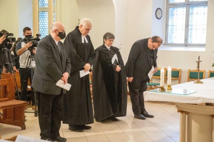 Nagy István miniszter tett tanúságot hitéről a mosonmagyaróvári piaristáknál