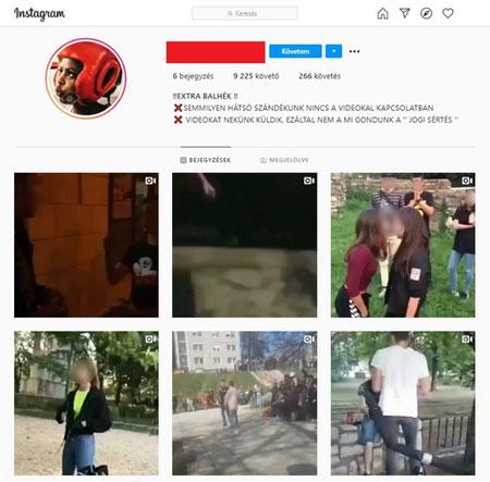 """Felháborító! Brutális videókon verik egymást magyar tinédzserek – az Instagram mosakszik: """"a járvány miatt kevesebb embere van az erőszakos tartalmak szűrésére"""""""