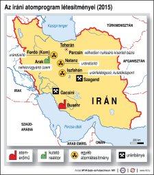 Szakértő: Irán egy éven belül atombombát állíthat elő
