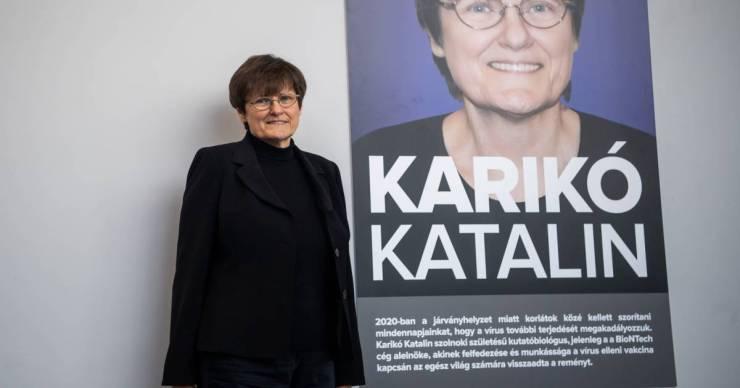 Ismét tudományos díjban részesült Karikó Katalin