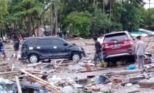 Már több mint 160 halálos áldozata van a cunaminak – egy koncertet is elsodort