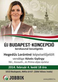 Új Budapest-koncepció