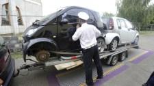 Nagy razzia: majdnem minden ellenőrzött járművel gond volt