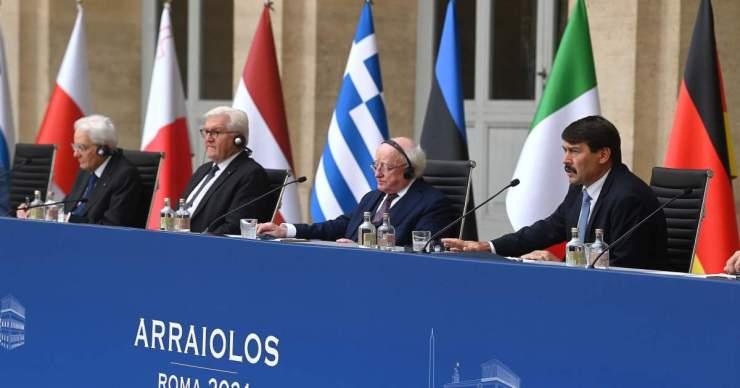 Arraiolos-csoport – Áder közös uniós fellépést sürgetett a migráció, a klímaválság és az államadósság kezelése ügyében