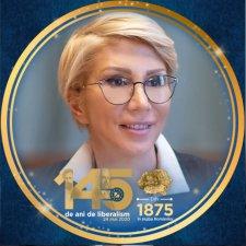 Nagy-Románia térképével látta el portréját Raluca Turcan miniszterelnök-helyettes