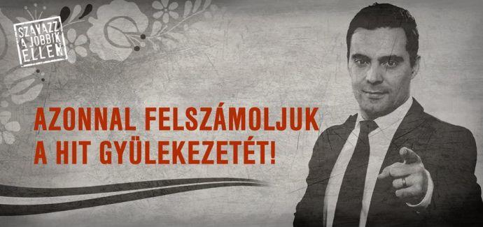 A Jobbik köszönettel tartozik a Hitgyüli Jobbik-ellenes kommandójának