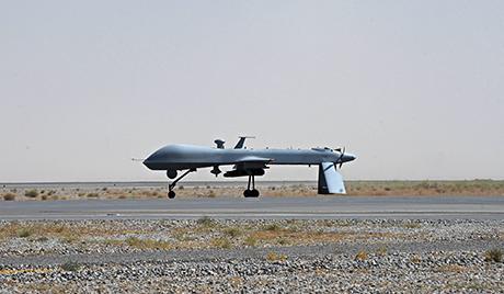 Krímben amerikai drónt lőttek le