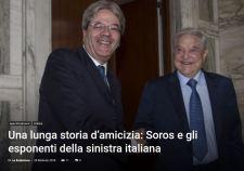Szenzációs olasz előzetes bejelentés Soros-ügyben