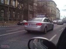 Lubavicsék idén is szorgalmasan idegesítik az autósokat a mobil menórájukkal