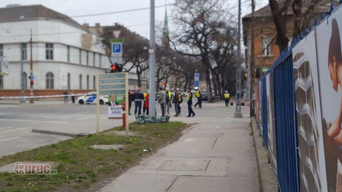Mercedeses Ricsi miatt került hatósági zár alá a Dózsa György út és a Kassák Lajos utca kereszteződése