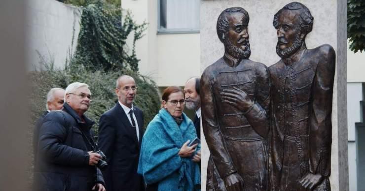 Felavatták Kossuth Lajos és Széchenyi István emlékhelyét Királyhelmecen