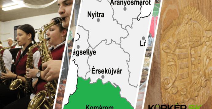Termelői és kézműves vásár, bál, fotóverseny a Komáromi járásban – Programajánló