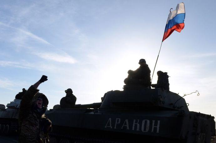 Aknára hajtott egy katonai teherautó Kelet-Ukrajnában