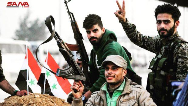 Megkezdődött Dél-Szíria felszabadítása