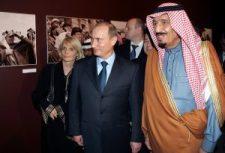 A szaúdi király történelmet ír moszkvai látogatásával