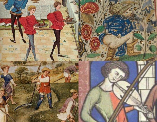 Tíz meghökkentő tény a középkori divat világából