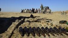 Bizonyítékok EU országok által gyártott hadianyagok illegális eljuttatására ISIS terroregységeknek
