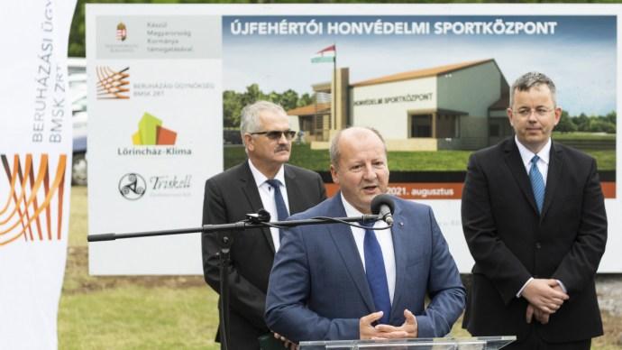 Újabb, lőteres sportközpontok építése kezdődik meg