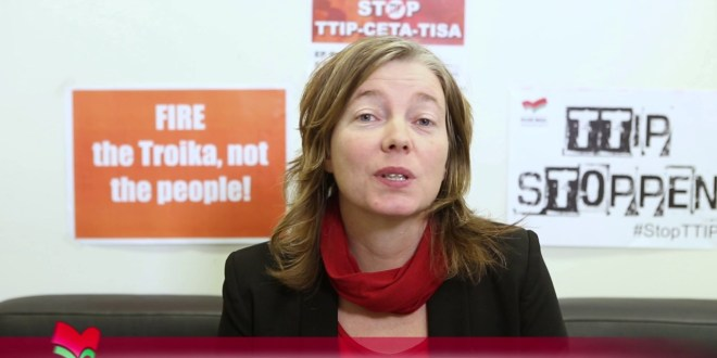 Svéd politikusnő: senki sem tekinthető illegális bevándorlónak