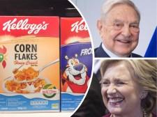 Soros és Clintonék a müzli mellé