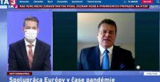 Šefčovič: A Fidesz nagyon érzékenyen reagál Brüsszel jogállammal kapcsolatos kérdéseire