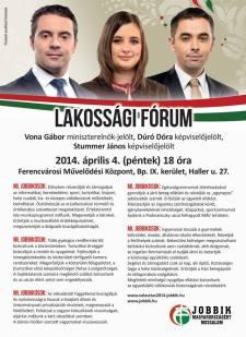 Jobbikos kampányzáró Ferencvárosban
