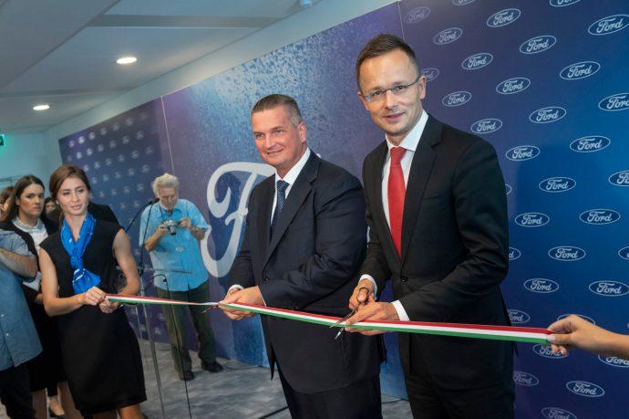 A Ford újabb beruházást adott át Magyarországon