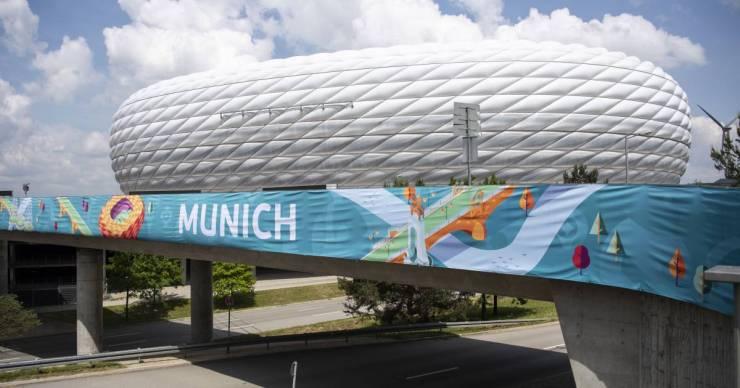 Hivatalos levélben kéri München az UEFA-t, hogy szivárványszínű legyen a stadion a magyar meccsen