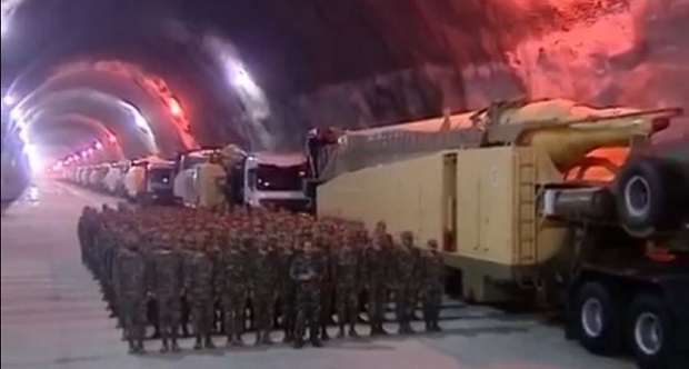 Irán ballisztikus rakétákat lőtt ki az IÁ szír bázisaira