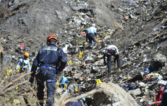 Kiszivárgott a felvétel: Így zuhant le a Germanwings gépe
