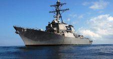 Az oroszok megfigyelés alatt tartják a Fekete-tengerre érkező amerikai rombolót