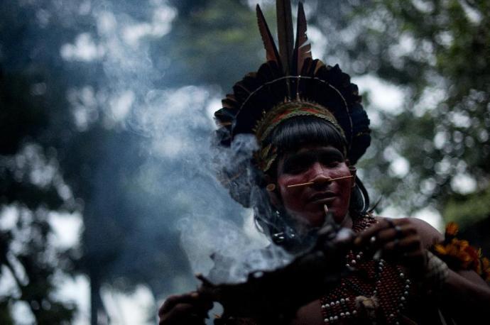 Az első kapcsolatfelvétel az ismeretlen őslakókkal