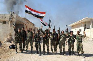 AHadsereg Főparancsnokság kijelenti a teljes győzelmet Kelet-Ghoutaban