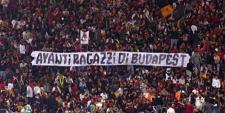 """A Lazio fociultrái és a magyarság előtti tisztelet – avagy az """"Avanti ragazzi di Buda"""" története"""