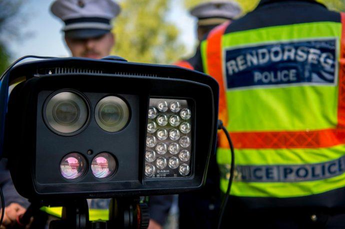 Átlagsebességet mérne ezentúl a rendőrség