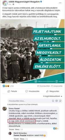 Mégsem csak dögunalom a mai emléknap (is): saját rajongói zsidózzák a holokausztozó Jakabot