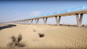 Vágyálom vagy a közlekedés jövője? A Hyperloop One egy epikus csőhálózatot tervez