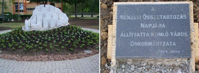 Trianon-emlékmű lopás Komlón – tettes a fideszes polgármester