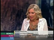 Morvai a legfrissebb migrációs hírekről és a 'műveltségi cenzusról' – az Echo tévén
