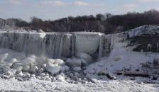 Befagyott a Niagara
