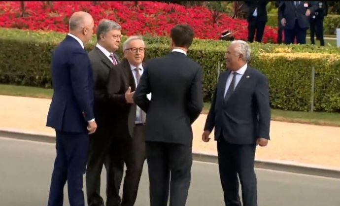 Tökrészeg! Így néz ki az Európai Unió (elnöke) – Videó