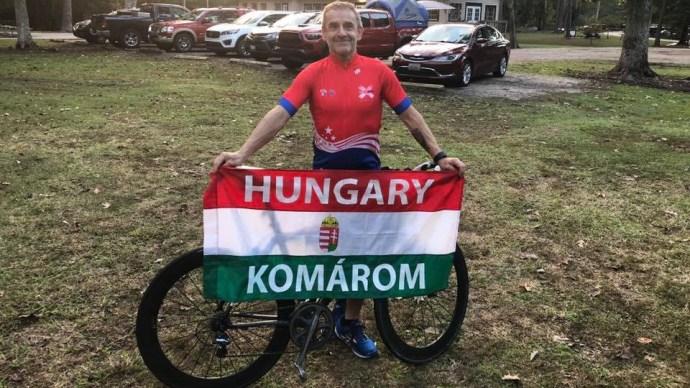 Két napig nem volt magánál a világrekorder magyar ultratriatlonista
