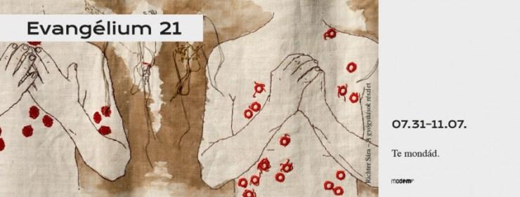 Az Evangélium 21 kortárs művészeti gyűjtemény mutatkozik be a debreceni MODEM-ben
