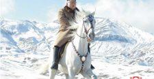 Kim Dzsong Un hófehér lovon vonult fel a Pektu-hegyre