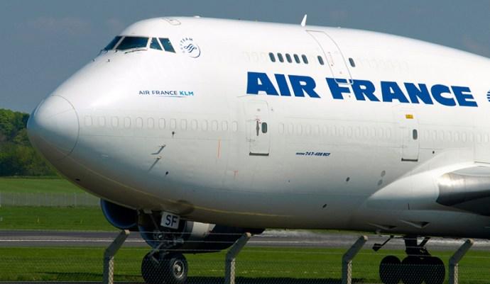 Az Air France gépét nem engedték be Oroszország légterébe