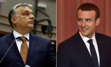 Macron levegőnek nézte Orbán Viktort (Videó)